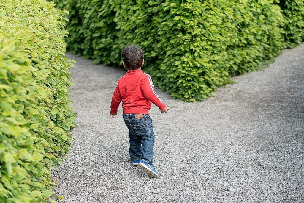 child, crossroad, kid