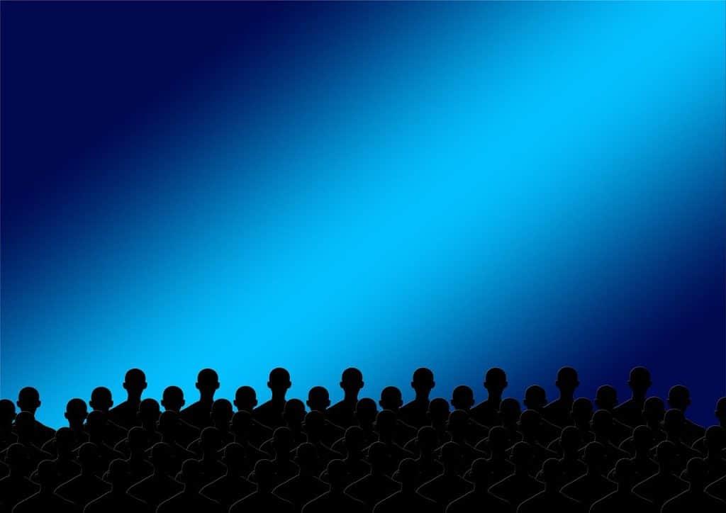person, men, theater